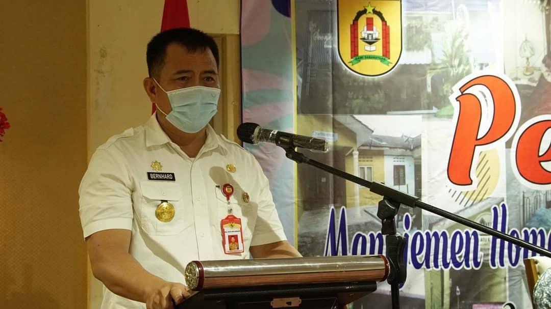 Pjs Walikota Banjarbaru Bernhard E.Rondonuwu